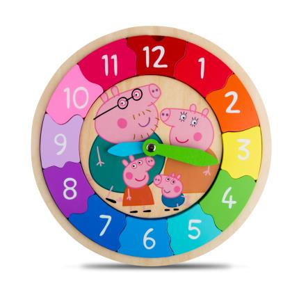 Toys & Games - Peppa Pig Clock - Image 1