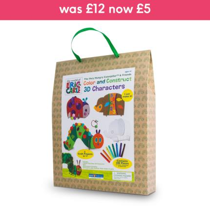 Toys & Games - Hungry Caterpillar 3D Cardboard Character Set - Image 1