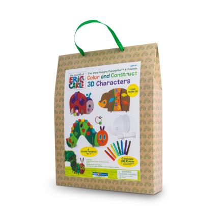 Toys & Games - Hungry Caterpillar 3D Cardboard Character Set - Image 2