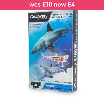 Toys & Games - Discovery Channel 3D Shark Anatomy Model - Image 1