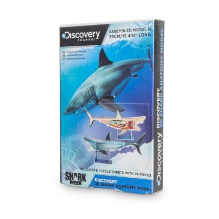 Toys & Games - Discovery Channel 3D Shark Anatomy Model - Image 2