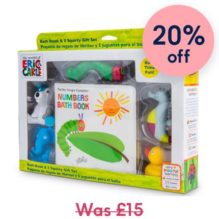 Toys & Games - Hungry Caterpiller Bath Set - Image 1