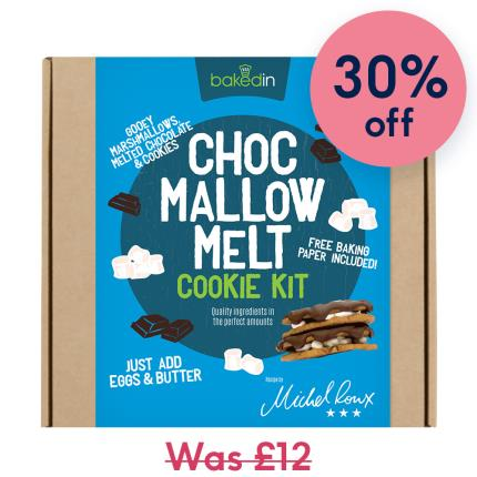 Toys & Games - Bakedin Chocolate Mallow Melt Cookie Kit - Image 1