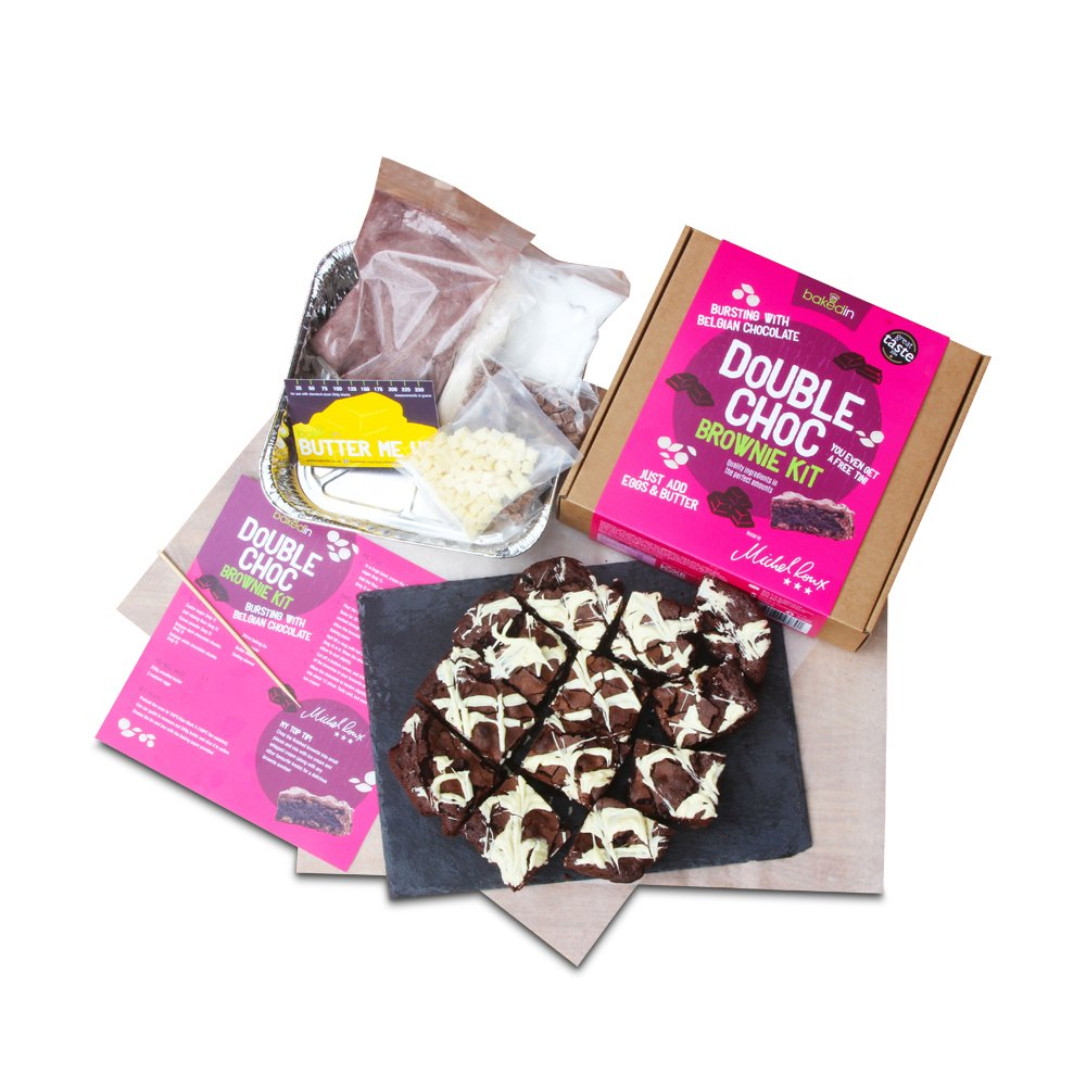 Toys & Games - Bakedin Chocolate Brownie Baking Kit - Image 1