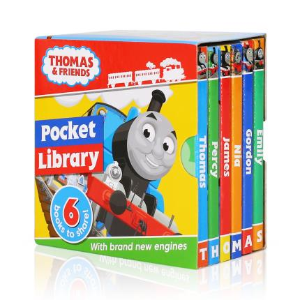 Toys & Games - Thomas and Friends Pocket Library Book Set - Image 1
