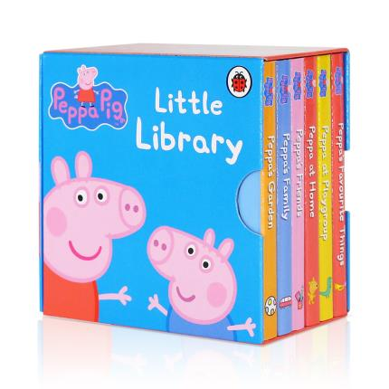 Toys & Games - Peppa Pig Little Library Book Set - Image 1