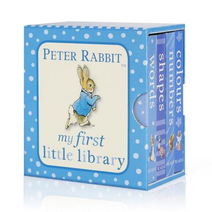 Toys & Games - Peter Rabbit My First Little Library Book Set - Image 1