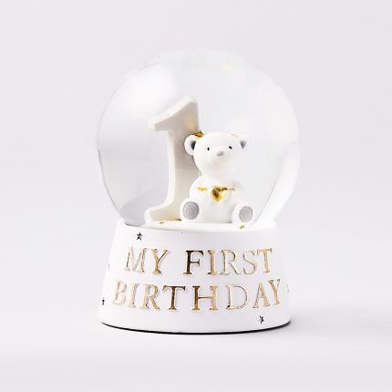 Toys & Games - 'My 1st Birthday' Snowglobe - Image 1