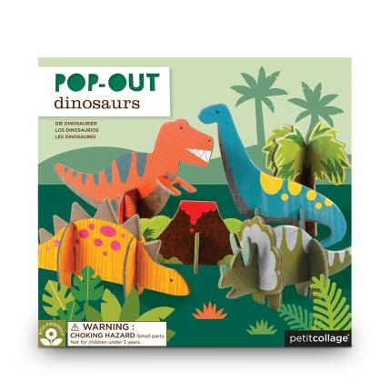 Toys & Games - Pop-Out Dinosaur Play Set - Image 1