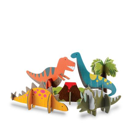 Toys & Games - Pop-Out Dinosaur Play Set - Image 2