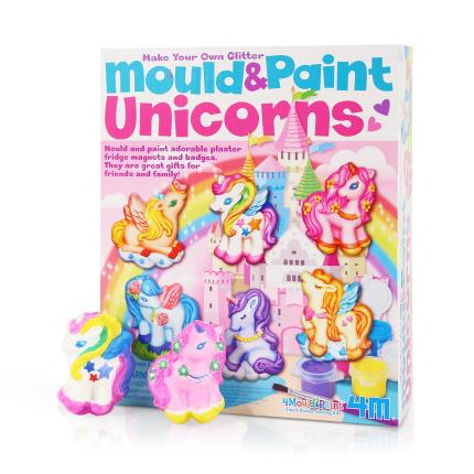 Toys & Games - Make Your Own Glittered Unicorns Kit - Image 1
