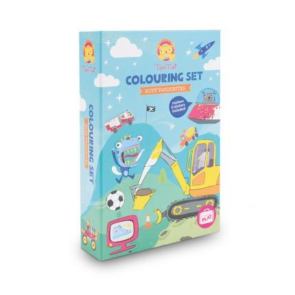Toys & Games - Boys' Favourites Colouring Set - Image 1