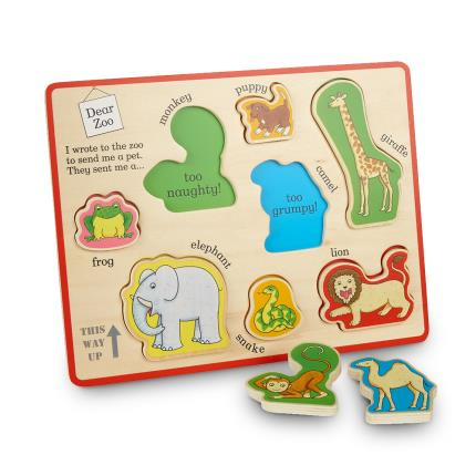 Toys & Games - Dear Zoo Puzzle Tray - Image 1