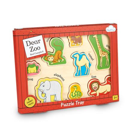 Toys & Games - Dear Zoo Puzzle Tray - Image 2
