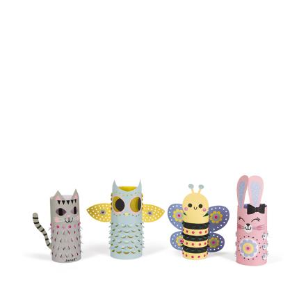 Toys & Games - 4 Animal Lanterns Craft Kit - Image 2