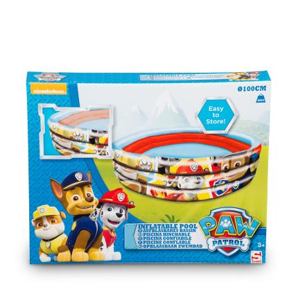 Toys & Games - Paw Patrol Boys 3 Ring Inflatable Pool 100x30 cm - Image 2