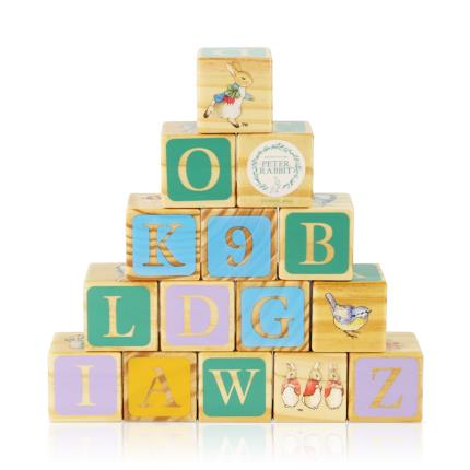 Toys & Games - Peter Rabbit Wooden Picture Blocks - Image 1