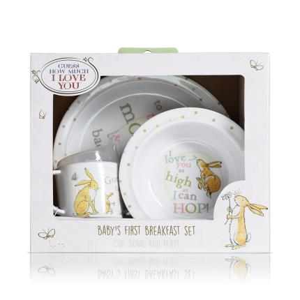 Toys & Games - 'Guess How Much I Love You' Baby's 1st Breakfast Set - Image 1