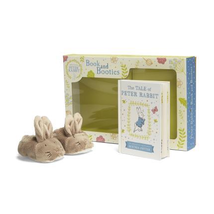 Toys & Games - Peter Rabbit Book & Booties Set - Image 1