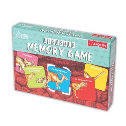Toys & Games - NHM Dinosaur Memory Game - Image 1