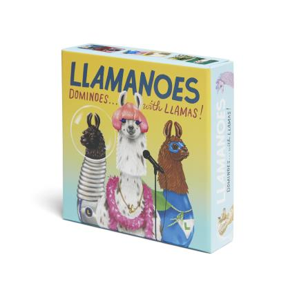 Toys & Games - Llamanoes (Dominoes with Llamas) - Image 1