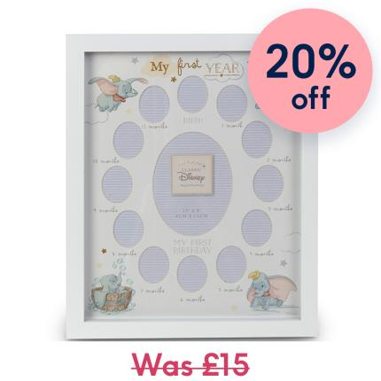 Toys & Games - Disney Magical Beginnings My First Year Photo Frame - Image 1