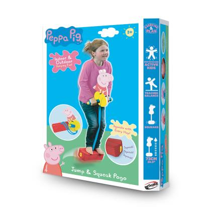 Toys & Games - Peppa Pogo Jump and Squeak - Image 1