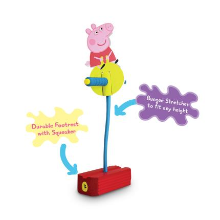 Toys & Games - Peppa Pogo Jump and Squeak - Image 2