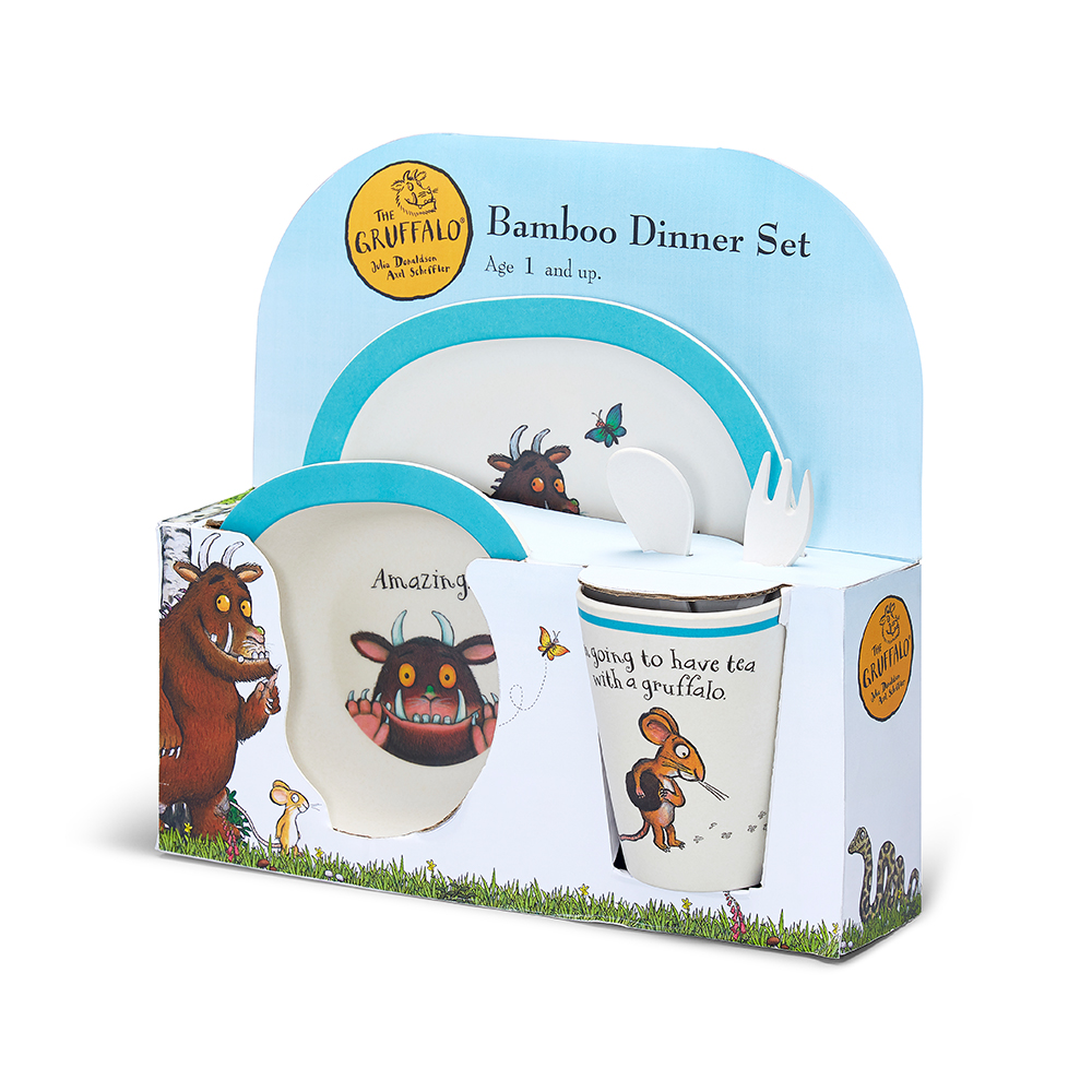 Toys & Games - The Gruffalo Bamboo Dinner Set - Image 1