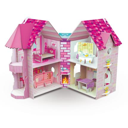 Toys & Games - Sassi 3D Doll House And Book - Image 1