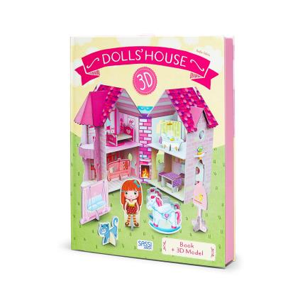 Toys & Games - Sassi 3D Doll House And Book - Image 2
