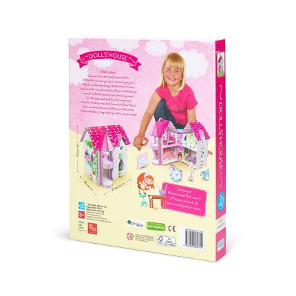 Toys & Games - Sassi 3D Doll House And Book - Image 3