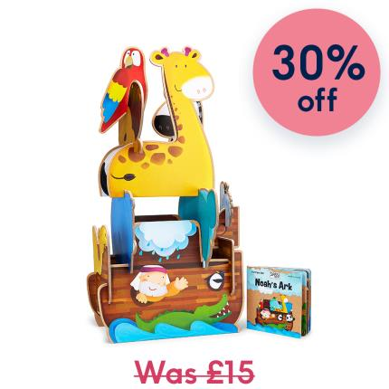Toys & Games - Noah's Ark Assemble & Build Kids Gift Set - Image 1