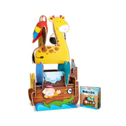 Toys & Games - Noah's Ark Assemble & Build Kids Gift Set - Image 2