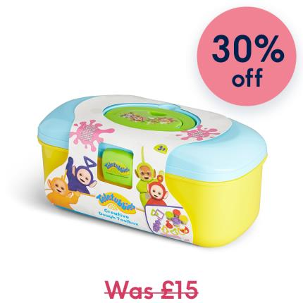 Toys & Games - Teletubbies Creative Dough Toolbox Gift for Kids - Image 1