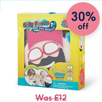 Toys & Games - Bath Stickers Silly Faces Gift for Kids - Image 1