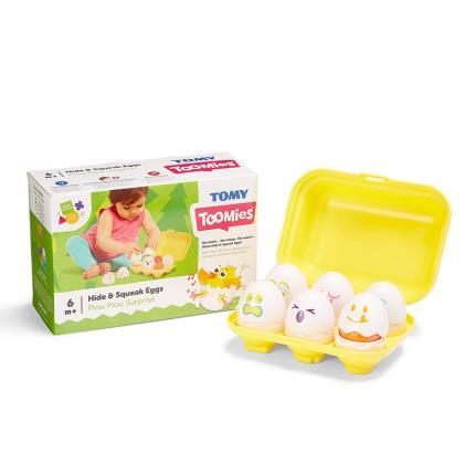 Toys & Games - TOMY Toomies Hide and Squeak Eggs - Image 1
