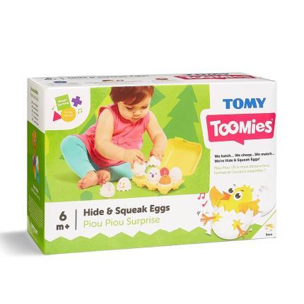 Toys & Games - TOMY Toomies Hide and Squeak Eggs - Image 2