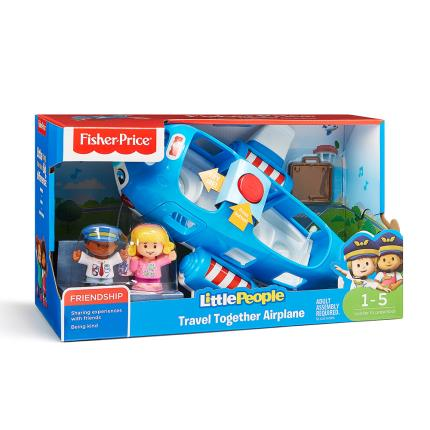 Toys & Games - Fisher-Price Little People Plane - Image 1