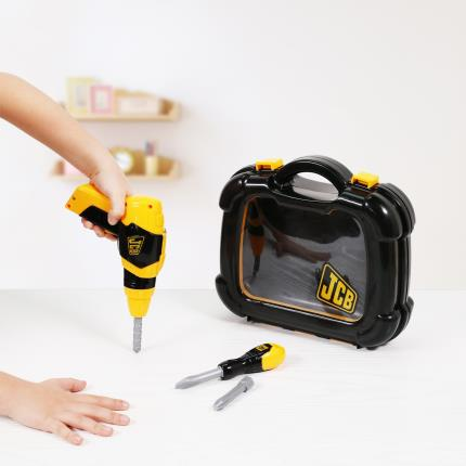 Toys & Games - JCB Toolkit Set with Drill - Image 1