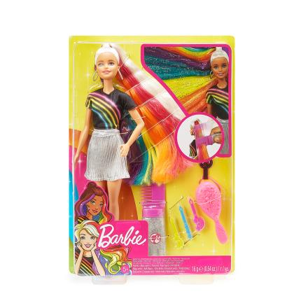 Toys & Games - Barbie Hair Changing Doll - Image 1