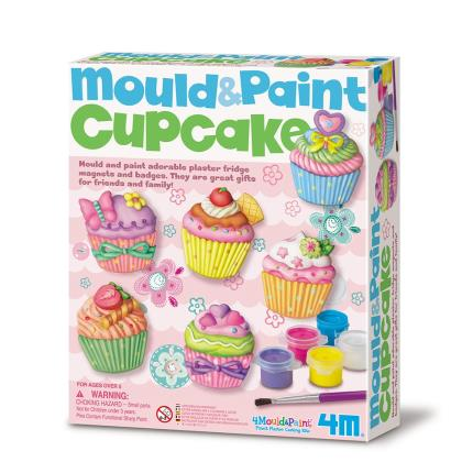 Toys & Games - Mould & Paint Cupcake Kit - Image 1