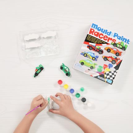 Toys & Games - Mould & Paint Racers - Image 1