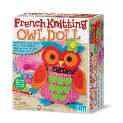 Toys & Games - French Knitting Owl Doll - Image 1