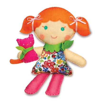 Toys & Games - Stitch a Doll Kit & Pet Kitty - Image 2