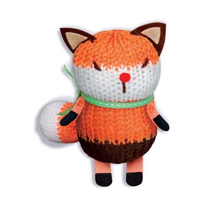 Toys & Games - French Knitting Fox Doll - Image 2