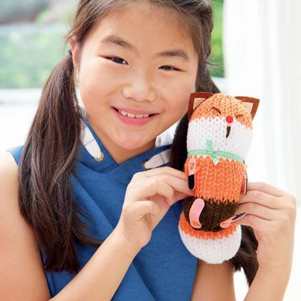 Toys & Games - French Knitting Fox Doll - Image 3
