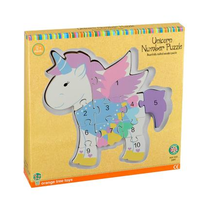 Toys & Games - Unicorn Number Puzzle - Image 1