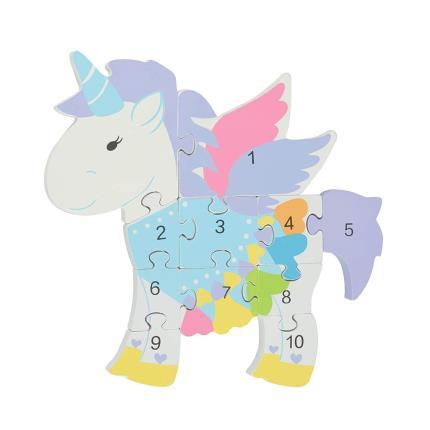Toys & Games - Unicorn Number Puzzle - Image 2