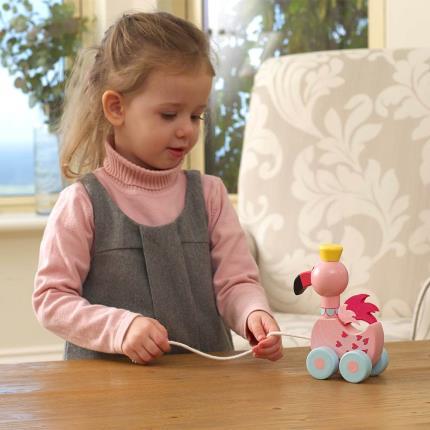 Toys & Games - Flamingo Pull Along - Image 2